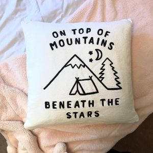 Chapters Pillow Cover